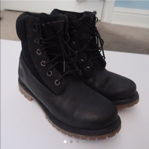 All Black Timberlands (Size 6.5-7) (negotiable)